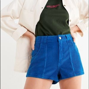 BDG URBAN OUTFITTERS Blue Corduroy Shorts